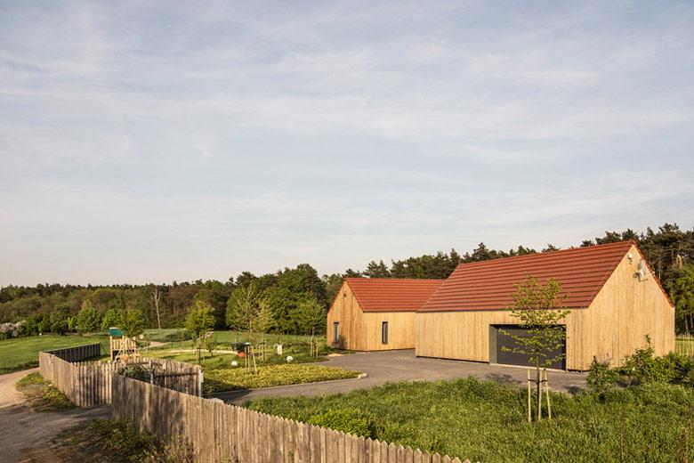 Dom w Nowej Górce. Projekt: GAB | Katarzyna Osipowicz, Piotr Grabowski