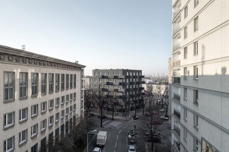 Budynek mieszkalny Unikato, Katowice. Projekt:Robert Konieczny | KWK Promes. Zdjęcie: Jarosław Syrek