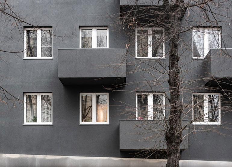 Budynek mieszkalny Unikato, Katowice. Projekt:Robert Konieczny | KWK Promes. Zdjęcie: Juliusz Sokołowski