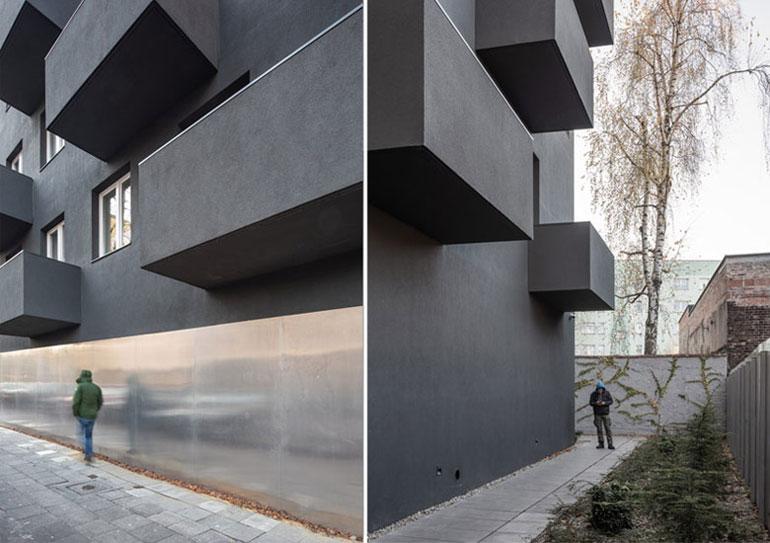 Budynek mieszkalny Unikato, Katowice. Projekt:Robert Konieczny | KWK Promes. Zdjęcia: Juliusz Sokołowski