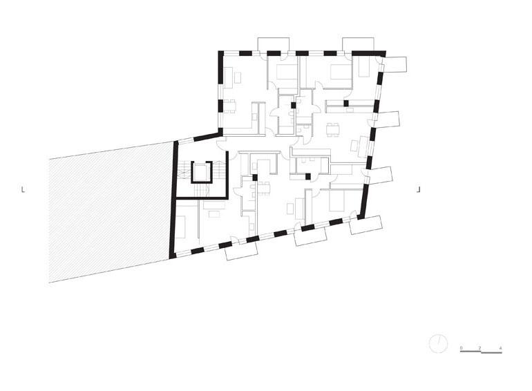 Budynek mieszkalny Unikato, Katowice. Projekt:Robert Konieczny | KWK Promes