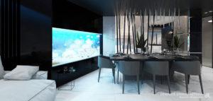 Blue Lagoon – luksusowy penthouse projektu Dominika Respondka