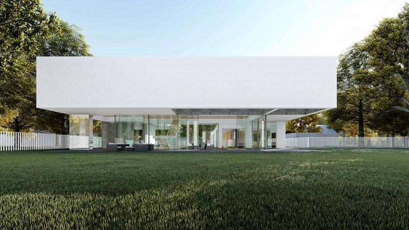 """Mniej znaczy więcej. """"Spin House"""" – minimalistyczna willa pracowni Mobius Architekci"""