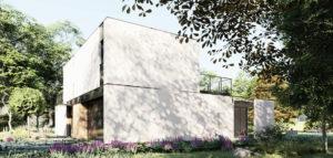 Skromny dom pod Warszawą pracowni MODULA architekci