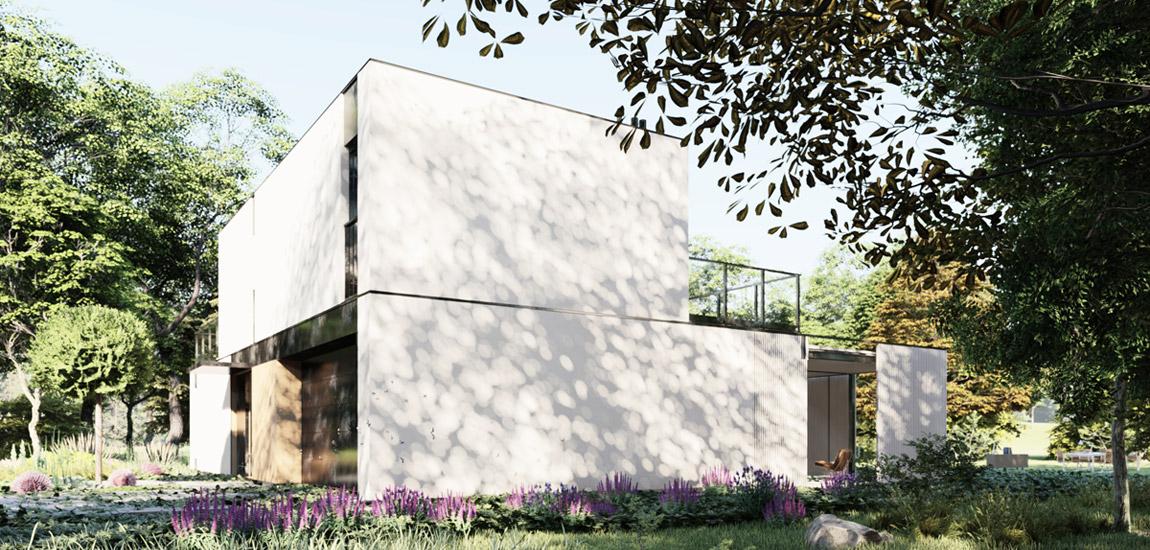 Dom pod Warszawą. Projekt: MODULA architekci