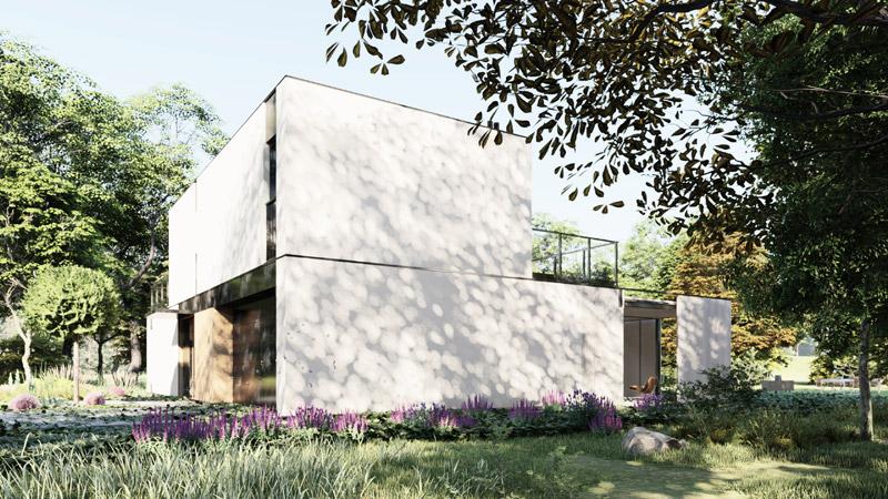 Dom pod Warszawą. Projekt:MODULA architekci