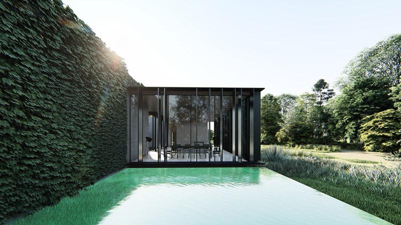 Dom wpisany. Projekt: MODULA architekci