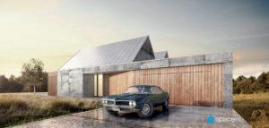 Dom na wsi projektu pracowni Spacelab