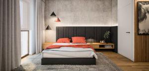 Przytulne i nowoczesne wnętrza mieszkania projektu biura TK Architekci