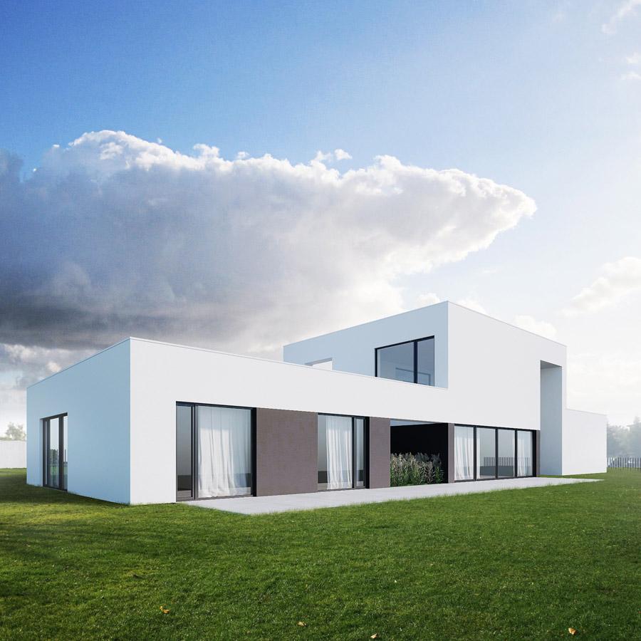 Dom dla czteroosobowej rodziny w Lublinie. Projekt: 081 Architekci
