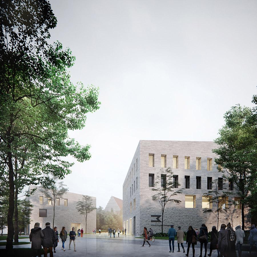 Muzeum Powstania Wielkopolskiego. I Nagroda w konkursie: WXCA | Pracownia Architektoniczna
