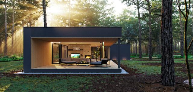 Dom w lesie pracowni BECZAK / BECZAK / ARCHITEKCI