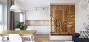 Wnętrza mieszkania pracowni Czajkowski Kuźniak Architekci