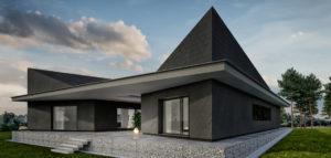 Karbonado. Dynamiczna forma domu pracowni Monochrom Architects