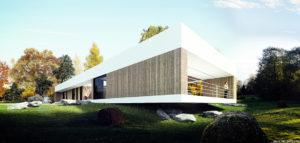 Dom nad Czarną Przemszą pracowni MUS Architects