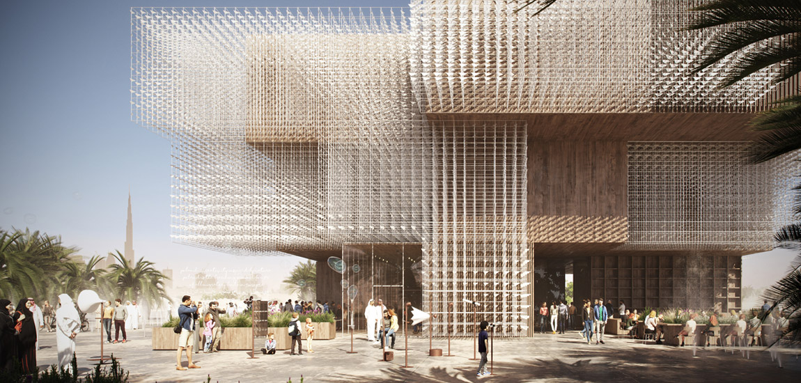 Pawilon Polski na Wystawę Światową Expo 2020 w Dubaju. Projekt:WXCA | Pracownia Architektoniczna