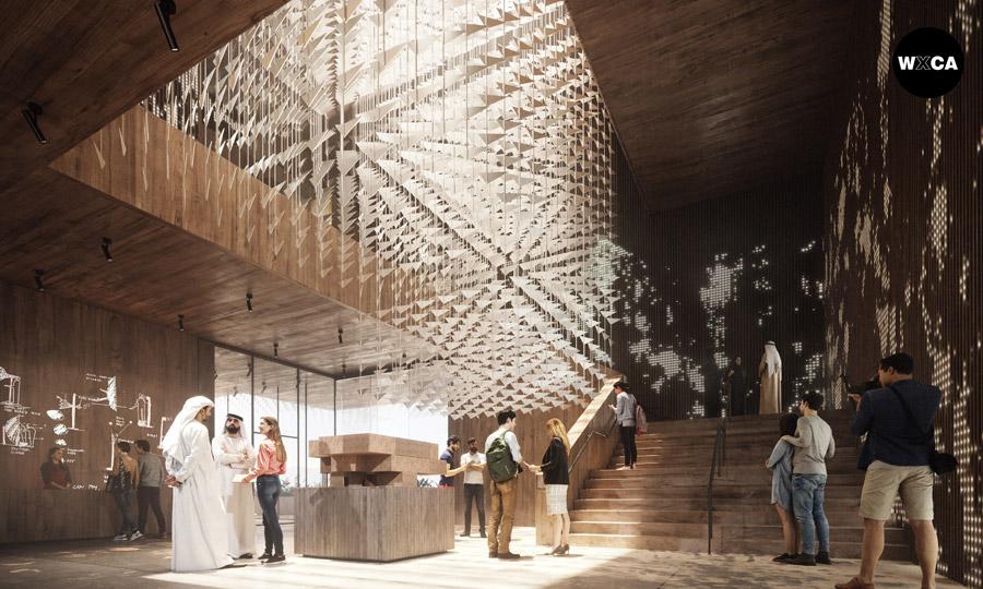 Pawilon Polski na Wystawę Światową Expo 2020 w Dubaju. Projekt:WXCA   Pracownia Architektoniczna