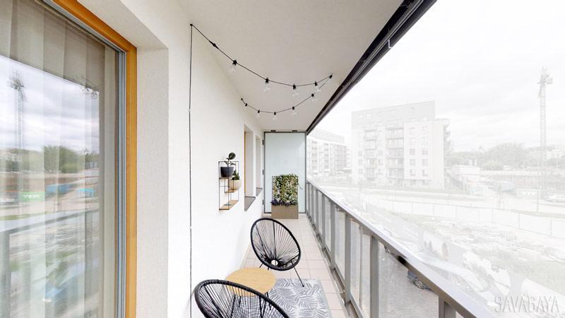 Wnętrza mieszkania w stylu Boho, Warszawa. Architekt: Natalia Szyk Trocha   Savagaya