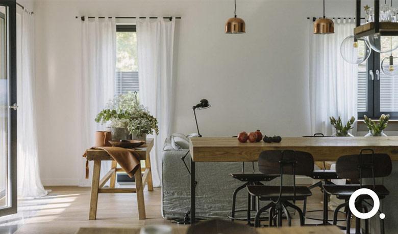 Wnętrza mieszkania. Projekt:STUDIO.O. organic design. Zdjęcia:PION