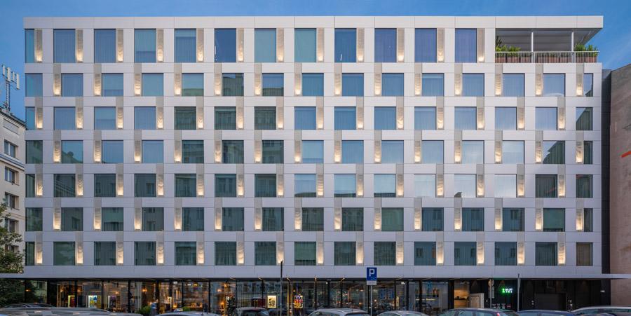 Hotel PURO, Warszawa. Projekt: JEMS Architekci