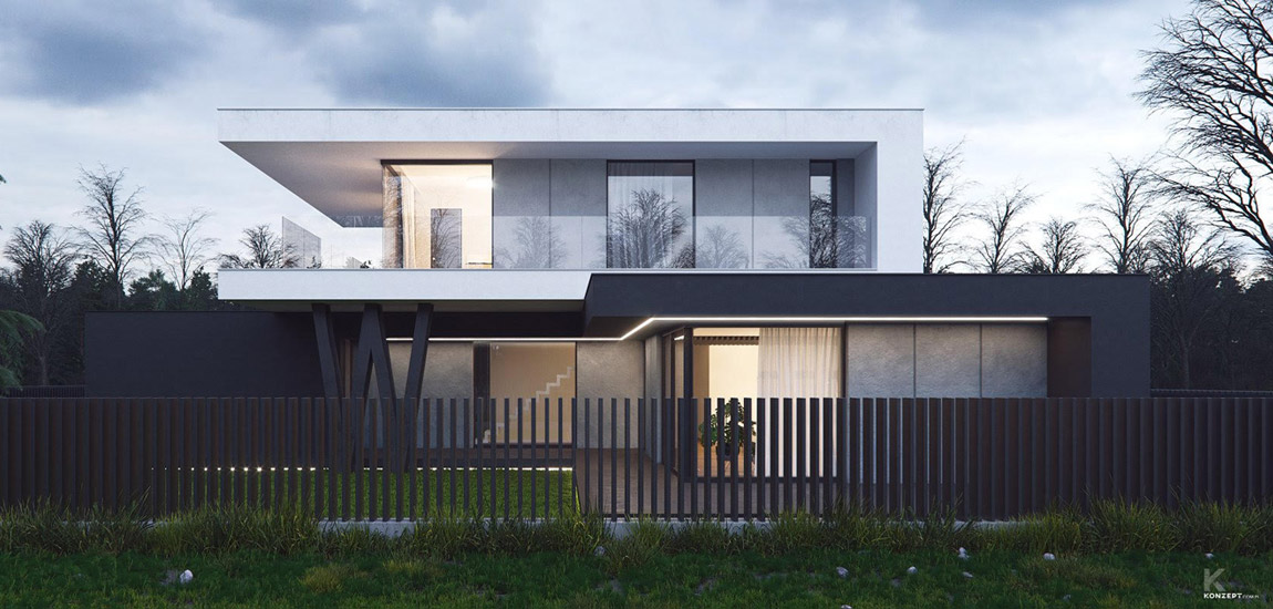 Wybrane projekty: Konzept Architekci