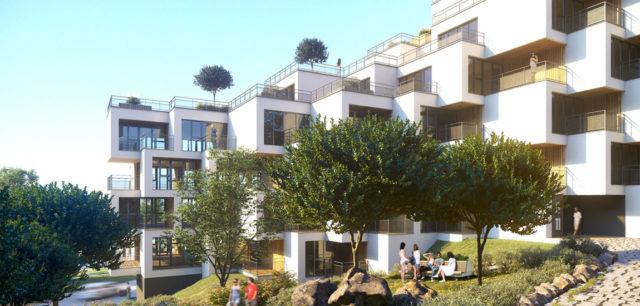 Osiedle na wzgórzach projektu biura MWM Architekci