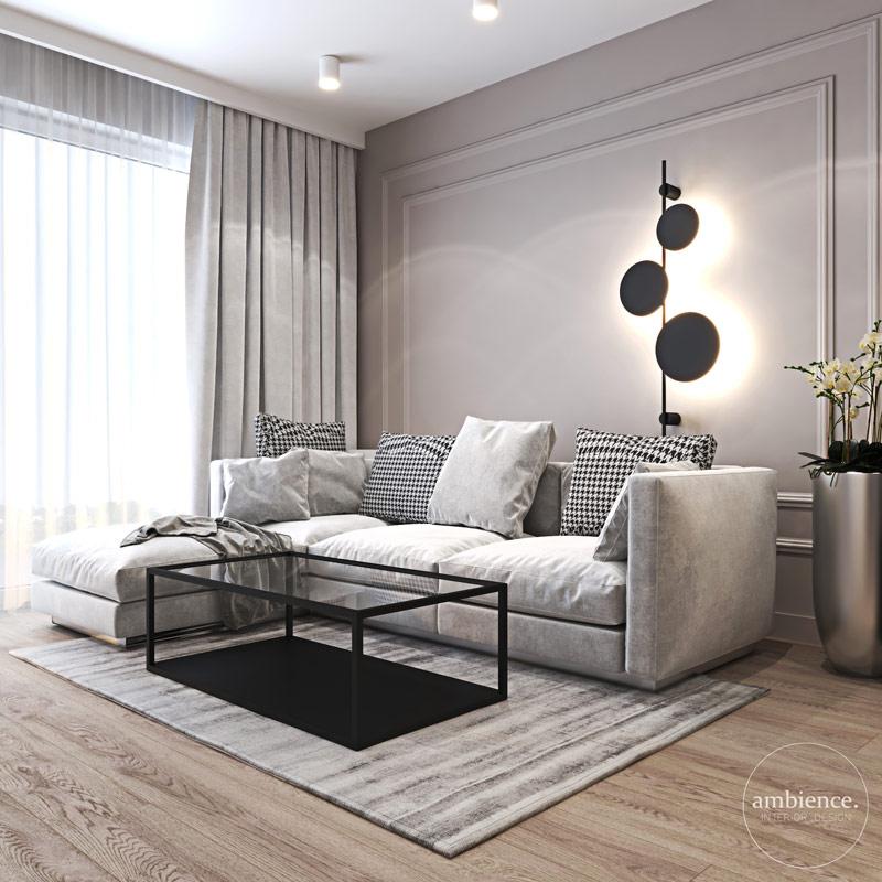 Mieszkanie w Warszawie. Projekt wnętrz:Ambience. Interior Design