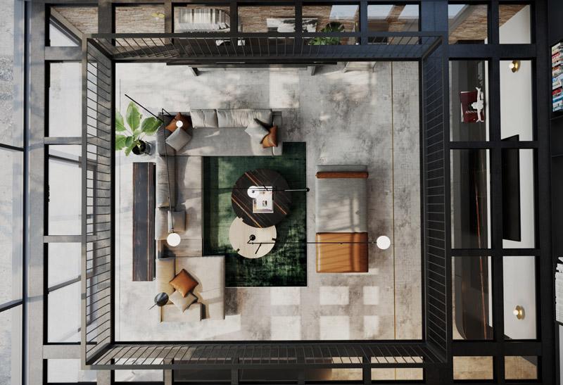 Modernizacja wnętrz przedwojennego domu jednorodzinnego w Warszawie. Projekt: JMW Architekci