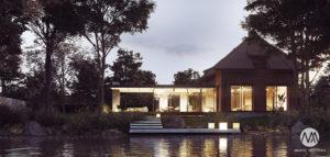 Dom z klimatem – przebudowa przemysłowego budynku na Mazurach pracowni Milwicz Architekci