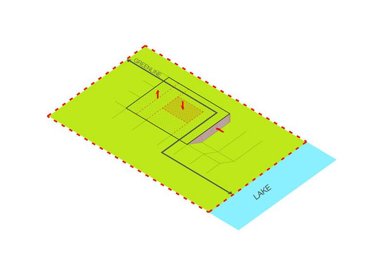 Dom na Warmii: Green Line. Architektura: Przemek Olczyk / Mobius Architekci