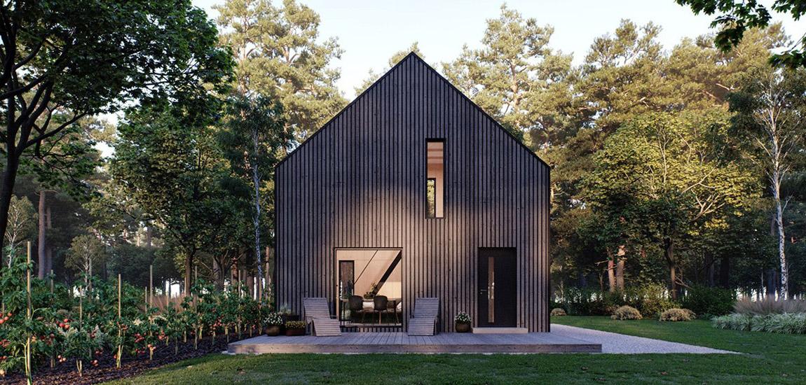 Prosty, tani w budowie i energooszczędny – minimalistyczny dom Modulo House