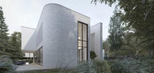 Proste formy i efektowny detal – Dom w Katowicach pracowni MOOMOO Architects