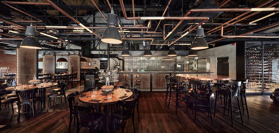 Restauracja Zoni w Warszawie. Projekt wnętrz: Nizio Design International | Mirosław Nizio