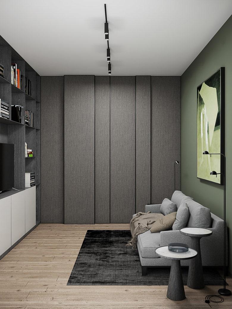 Wnętrza apartamentu w Mińsku. Projekt:Exit Design