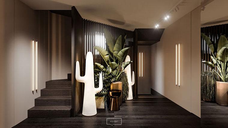 Wnętrza domu w Warszawie. Projekt:hilight.design