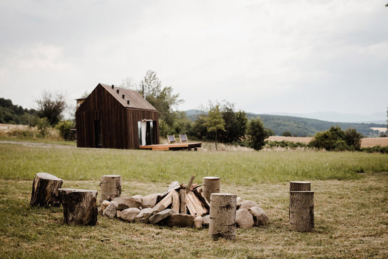 Domek letniskowy Hyttee, Góry Bardzkie, Sudety. Zdj. Bohoto Photography