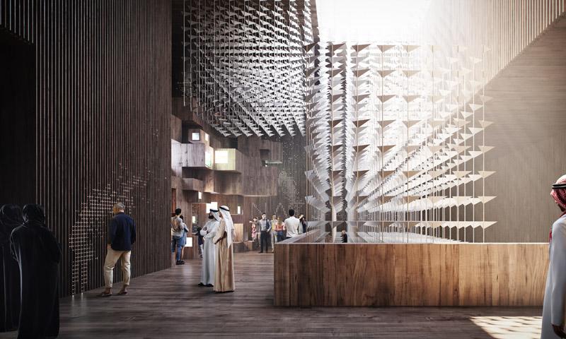 Ekologiczny Pawilon Polski na wystawę EXPO 2020 w Dubaju. Projekt: WXCA | Pracownia Architektoniczna