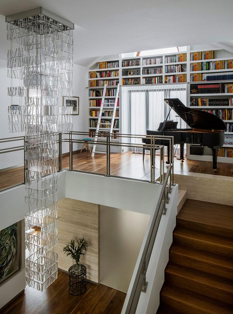 Wnętrza luksusowej rezydencji w Wilanowie. Projekt: Inter-Arch Architekci