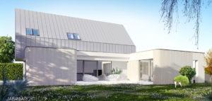 Dom na wrocławskim Ołtaszynie pracowni JABRAARCHITECTS