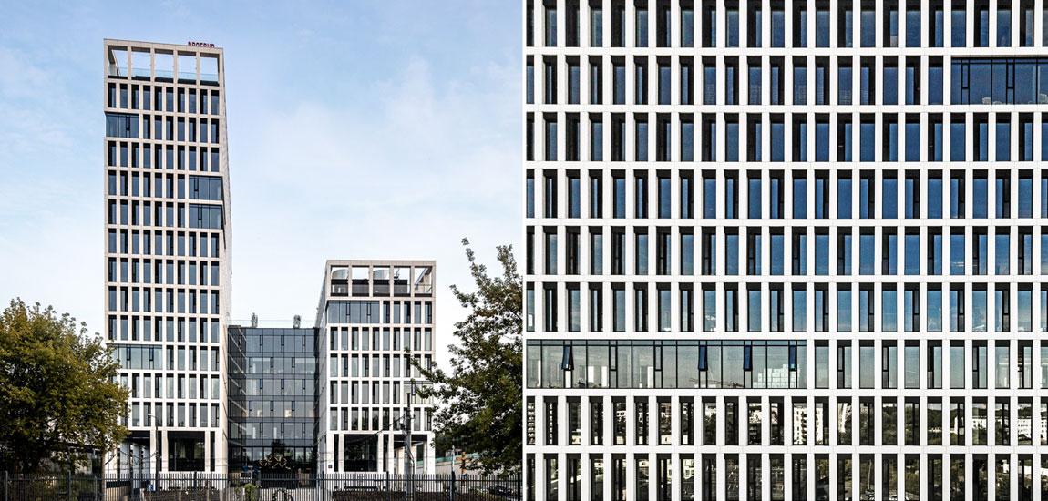 Biurowiec Vector+, Warszawa. Projekt: JSK Architekci. Zdjęcia: Artur Cymerman