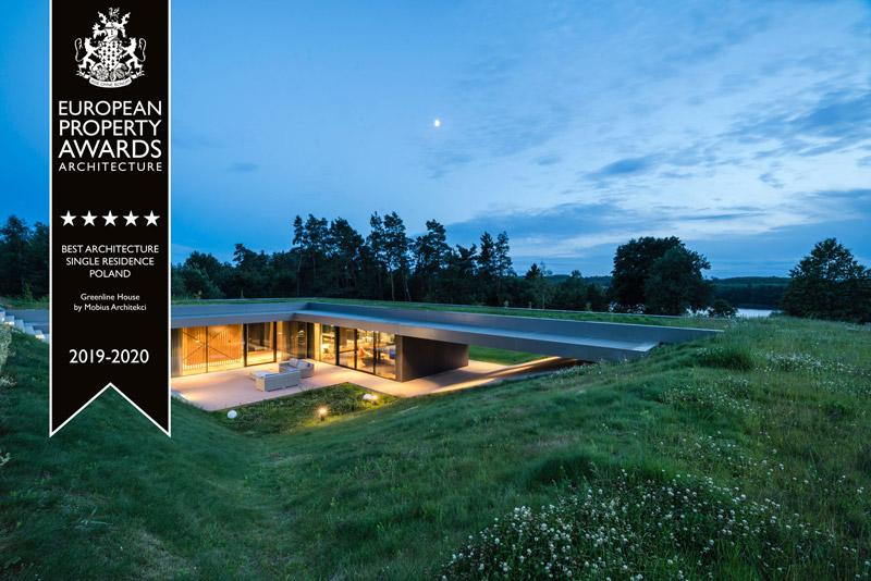Dom Green Line. Projekt:Przemek Olczyk / Mobius Architekci. Zdjęcie:Paweł Ulatowski
