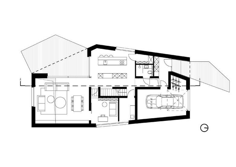 Dom LUS_4 pod Poznaniem. Projekt:PL.architekci