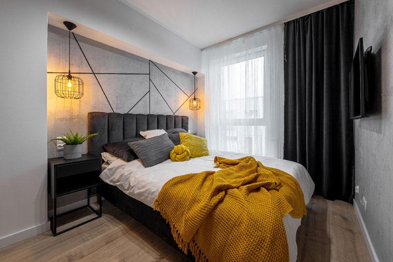 Apartament w stylu soft loft. Projekt wnętrz: Dobry Układ | Sandra Białkowska. Zdjęcia: Studio Prototypownia