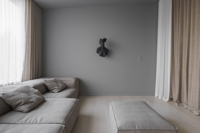 Wnętrza Domu Kwadrantowego. Projekt: Studio PULVA. Zdjęcia: Joel Hauck