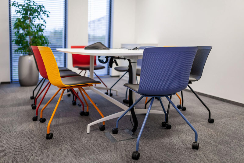 O kolorach we wnętrzu biurowym