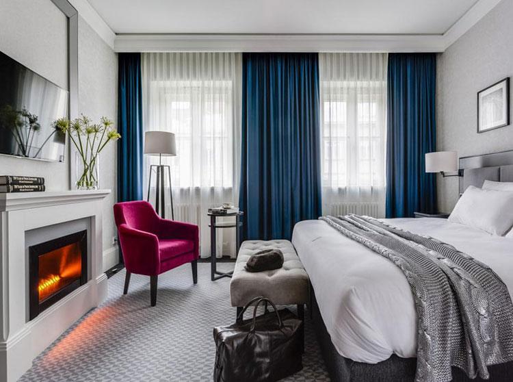Hotel Sixty Six, Warszawa. Projekt wnętrz: Iliard Architecture & Project Management