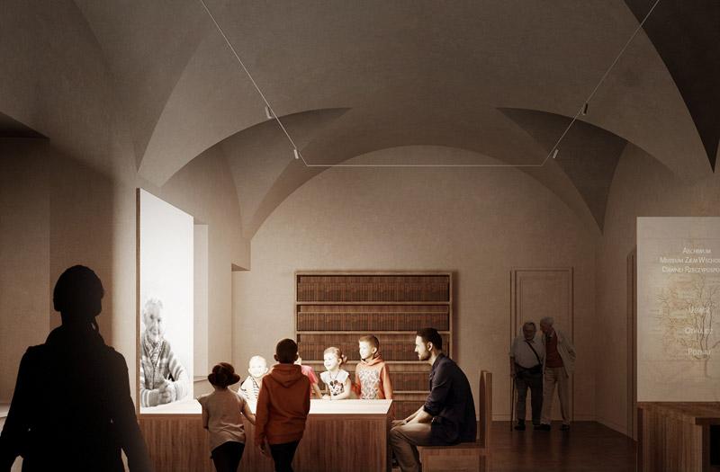 Muzeum Ziem Wschodnich Dawnej Rzeczpospolitej w Lublinie I nagroda w konkursie: WXCA + Ralph Appelbaum Associates (RAA)