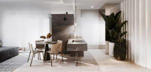 Stylowy design zamknięty w prostych formach – wnętrza mieszkania projektu hilight.design