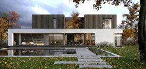Dom Naturalny – nowoczesna willa na urokliwej działce z pięknym starodrzewem