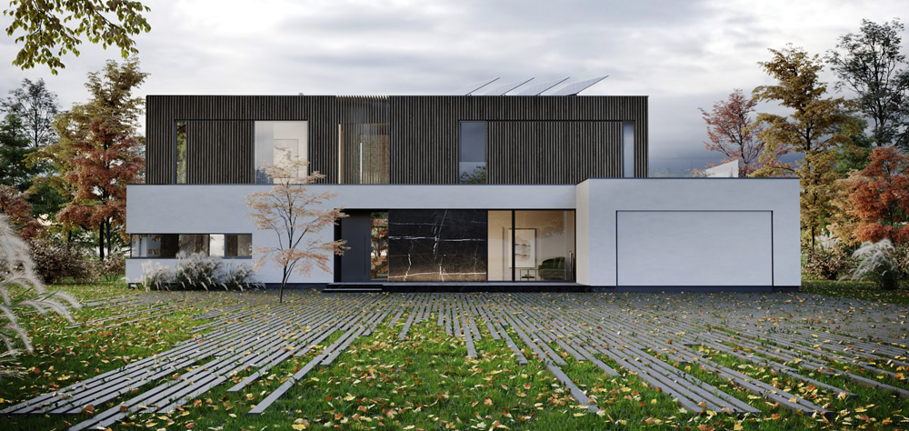 Dom Naturalny, okolice Warszawy. Projekt: JMW Architekci